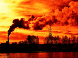 Pollution, air, bad, sky, dirty, generic, red, 4x3