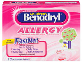 benadryl, johnson & johnson, 4x3