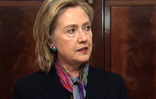 Hillary Clinton Condemns WikiLeaks