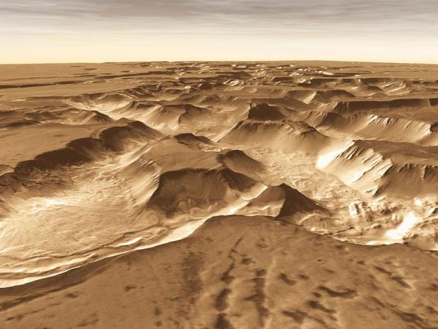The Odyssey Gets Ready to Break a Martian Record
