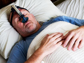 Sleep apnea CPAP mask reduces hypertension risk, studies suggest