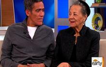 Ted Williams and Mom Hopeful