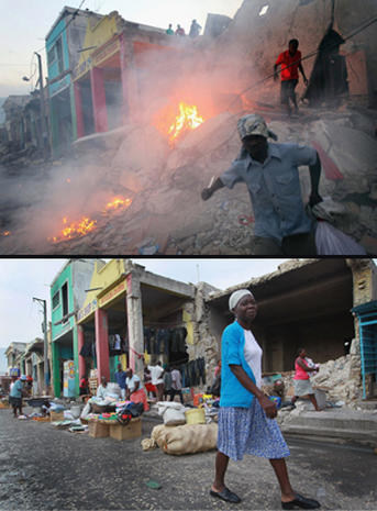 Haiti Quake: Then and Now