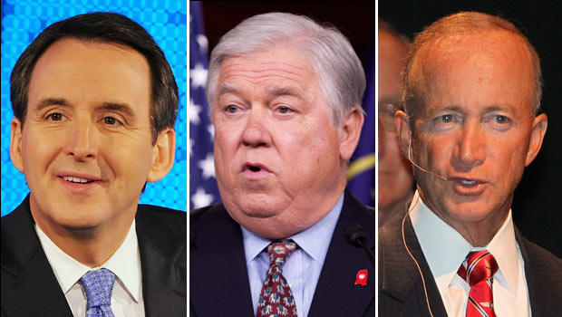 Mitch Daniels, Haley Barbour,  Tim Pawlenty