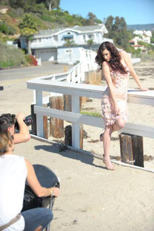 Rumer Willis' Modeling Debut