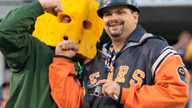 Bears Fans be Like Bears Packers Fans Stoke