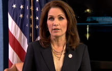 Bachmann Blasts Obama In Tea Party Response