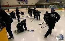 Hockey Moms Take to the Ice