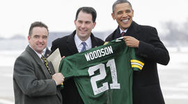 Barack Obama, Wisconsin, Packers