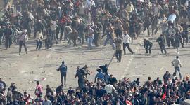 Pro-government demonstrators