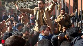 Cairo protesters Feb. 3, 2011