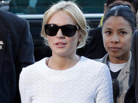 """Lindsay Lohan Told by Calif. Judge to Not """"Push Her Luck"""" Before Next Court Hearing"""