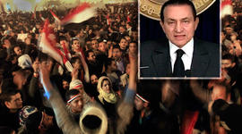 Mubarak  Protests