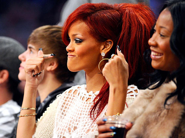Celebs at  the NBA All-Star Game