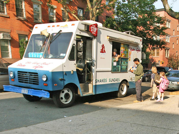 Ice cream truck driver charged with DUI