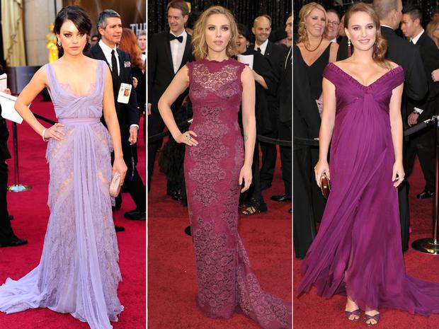 Oscar fashion trends