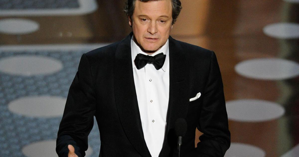 Colin Firth's Oscar ac...
