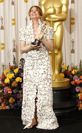 2011 Oscar winners in the press room