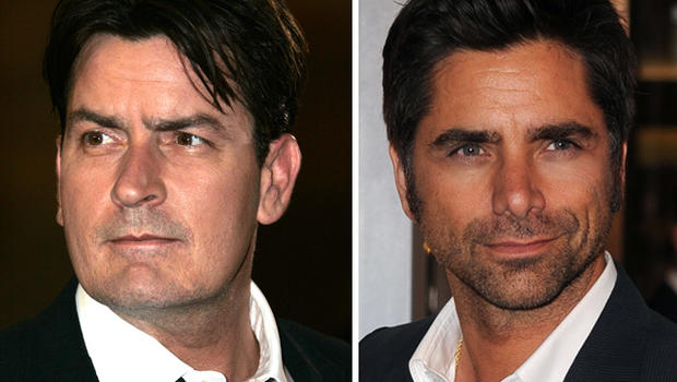 Charlie Sheen Stamos Charlie Sheen And John Stamos