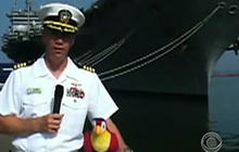Navy officers censured for raunchy videos