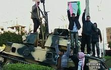 Qaddafi regime claims victory, rebels defiant