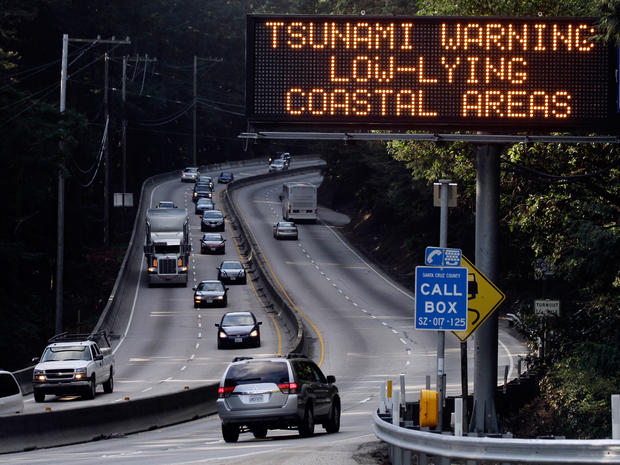 Tsunami reactions around the world