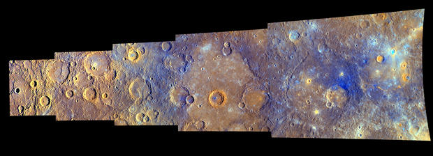 Messenger from Earth reaches Mercury orbit