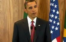 Obama gives latest on Libya