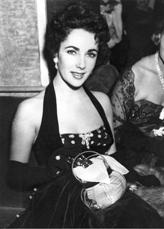 Elizabeth Taylor's glamorous style