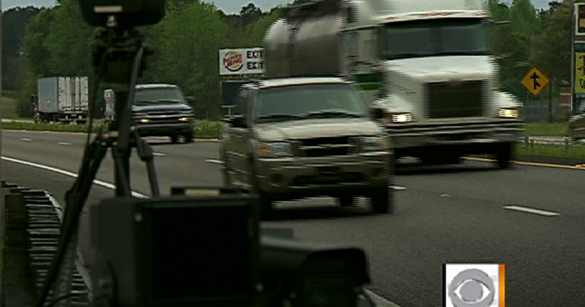 Speeding Ticket App >> Hidden cameras spark speeding ticket controversy - CBS News
