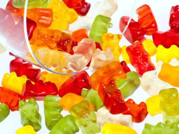 gummy bears, sweats, candy, sugar, stock, 4x3
