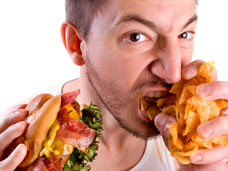 Binge eating wedding