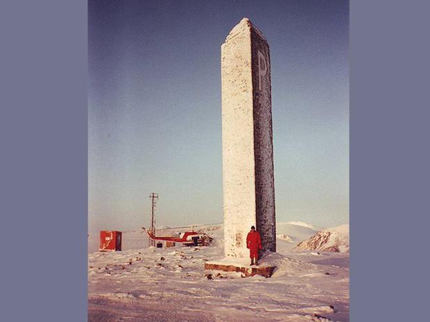The North Pole's conquest