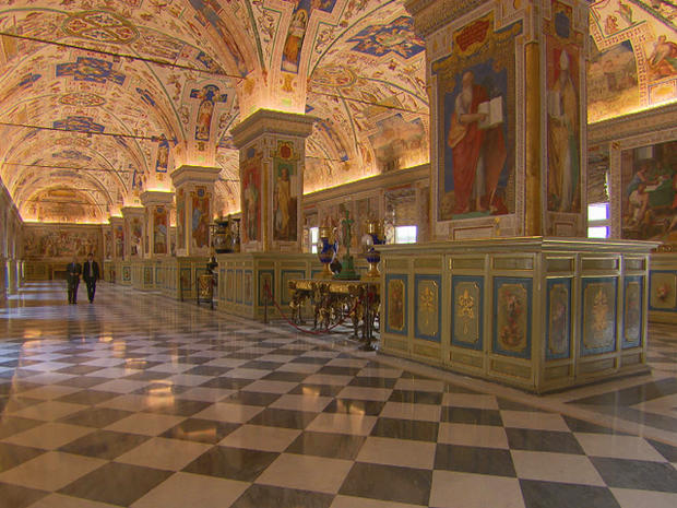 A visit to the Vatican Library