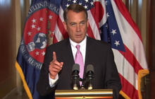 Boehner says WH, Dems need to get serious on spending