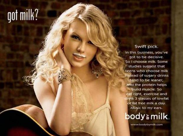 "Stars who've ""Got Milk?"""