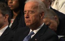 Obama puts Biden to sleep with budget speech?