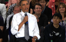What would you do differently? Obama includes health care reform in answer