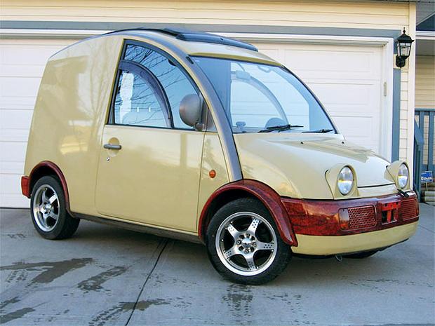 Nissan Cargo Van >> 15: Volkswagen Thing - World's 15 Ugliest Cars - Pictures - CBS News