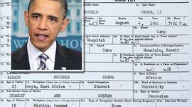 President Barack Obama birth certificate