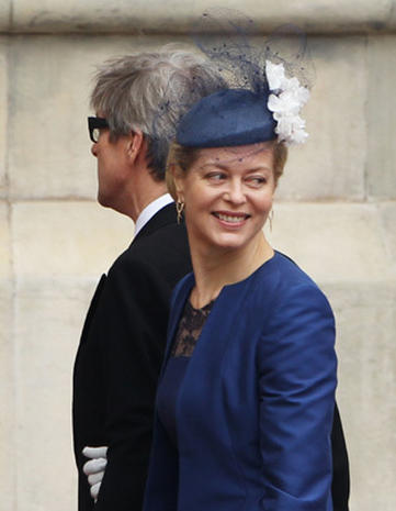 Royals arrive at Westminster Abbey