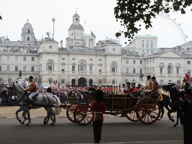 Royal procession