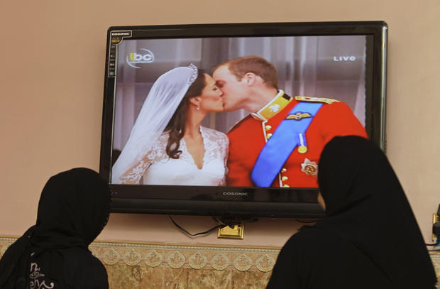 Royal wedding celebrated worldwide
