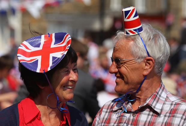 Royal wedding street parties