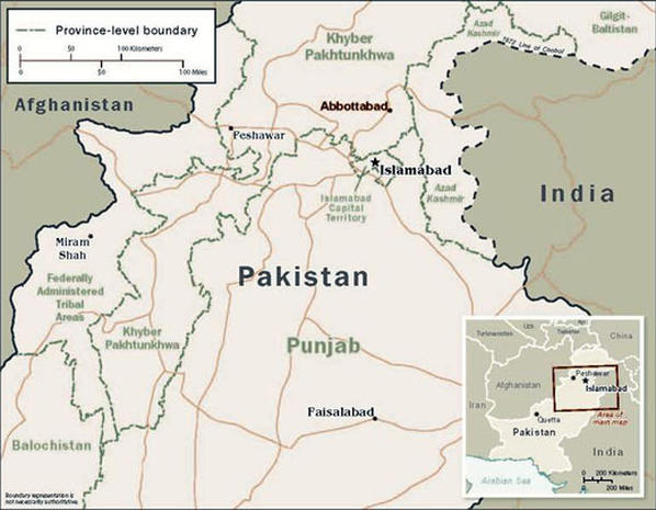 Daring raid in Pakistan