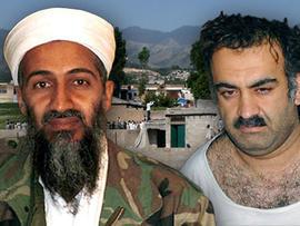 Osama Bin Laden and Khalid Sheikh Mohammed
