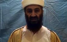 Osama bin Laden rehearses his remarks