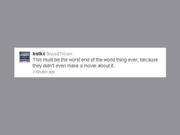 20 funny end-of-the-world tweets