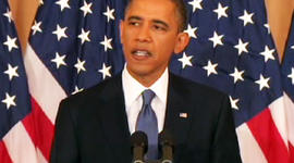 President Obama Press Conference on Middle East