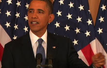 Obama on the conflict between Israelis and Arabs